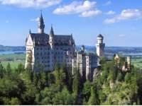 Ausflugsziele in Deutschland Schloss Neuschwanstein in Bayern / Allgäu