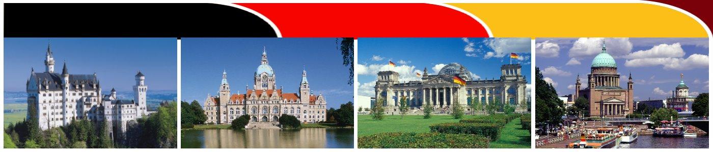 Urlaub in Deutschland Ausflugsziele und Unterkünfte