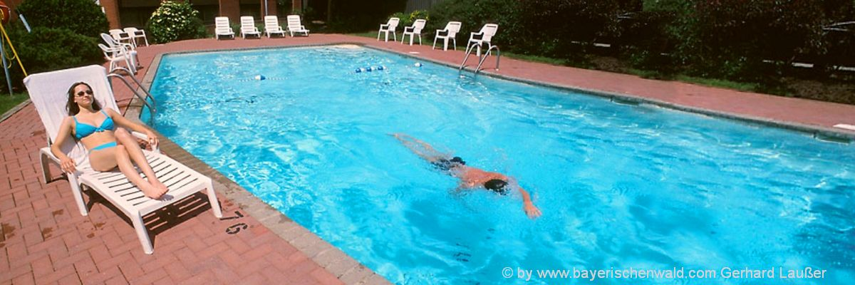 Wellnesshotel in Deutschland mit Swimming Pool