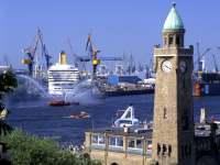 Junggesellenabschied in Hamburg Bild vom Hamburger Hafen
