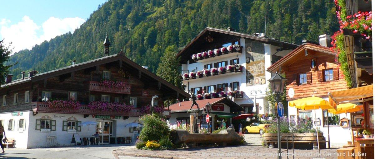Privat Unterkunft in Reit im Winkl Ferienwohnung 2 bis 5 Personen